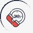 24/7 Customer Support icon