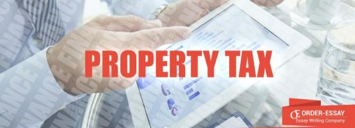 Property Tax Free Financial Essay Sample