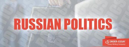 Russian politics essay sample