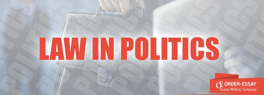 Law in Politics Sample Essay