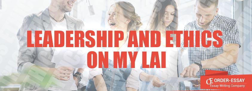 Leadership and Ethics on my Lai Essay Sample