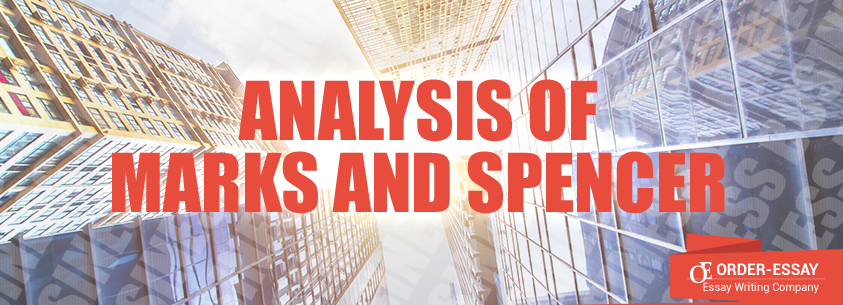 Analysis Of Marks And Spencer