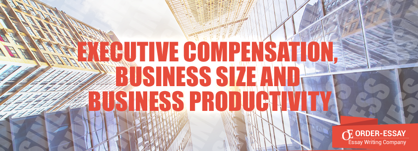 Executive Compensation, Business Size and Business Productivity