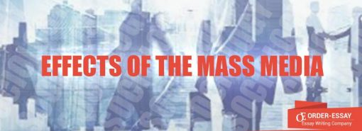 Effects of the Mass Media