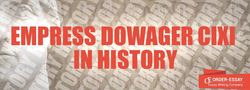 Empress Dowager Cixi in History
