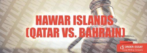 Hawar Islands (Qatar vs. Bahrain)