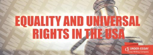 Equality and Universal Rights in the USA