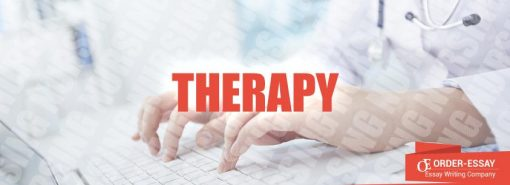Therapy Sample Essay