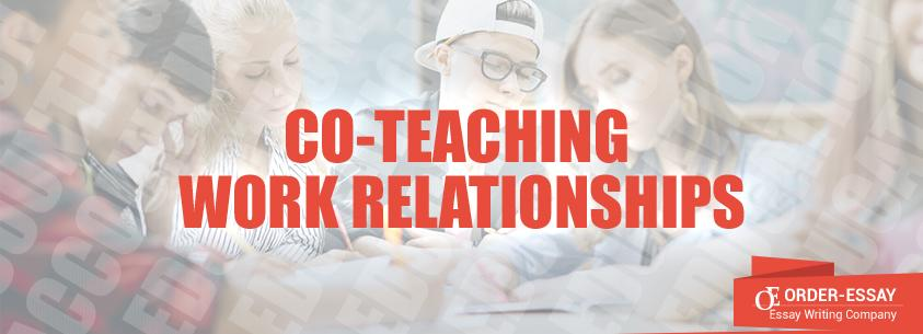 Co-Teaching Work Relationships Sample Essay