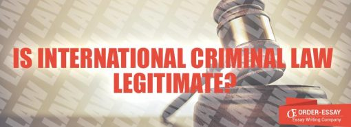 Is International Criminal Law Legitimate?