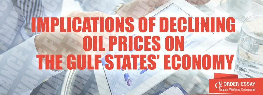 Implications of Declining Oil Prices on the Gulf States' Economy