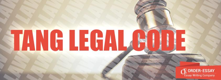 Tang Legal Code