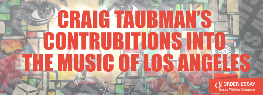 Craig Taubman's Contrubitions Into The Music Of Los Angeles