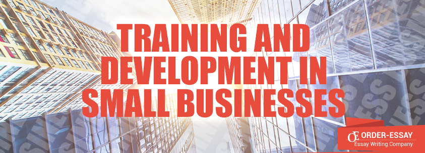 Training and Development in Small Businesses