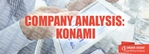 Company Analysis: Konami