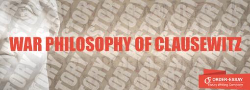 War Philosophy of Clausewitz