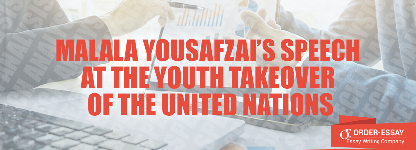 Malala Yousafzai's Speech at the Youth Takeover of the United Nations