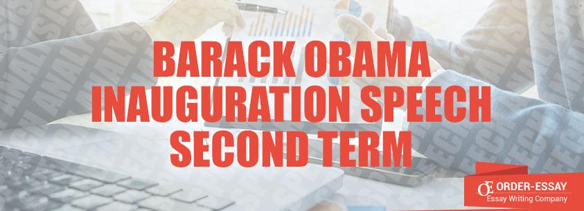 Barack Obama Inauguration Speech Second Term