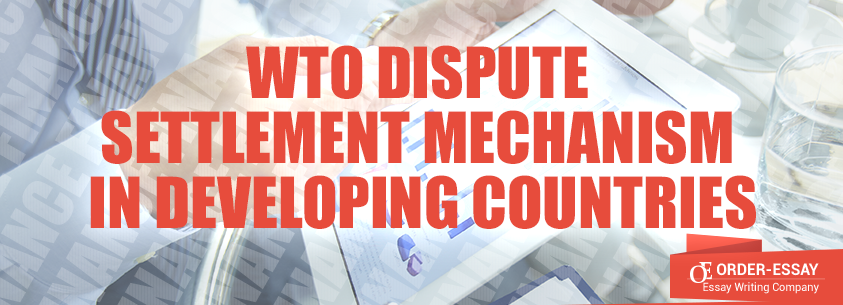 WTO Dispute Settlement Mechanism (DSM) in Developing Countries