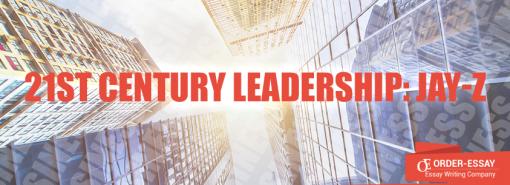 21st Century Leadership: Jay-Z