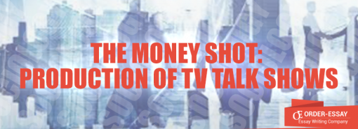 The Money Shot: Production of TV Talk Shows