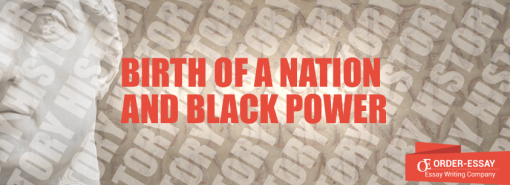 Birth of a Nation and Black Power