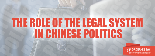 The Role of the Legal System in Chinese Politics