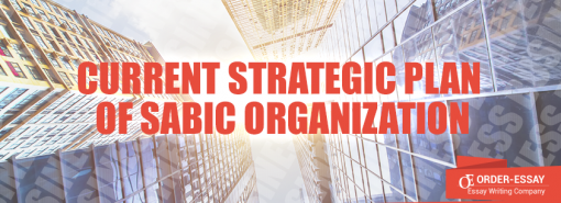 Current Strategic Plan Of Sabic Organization