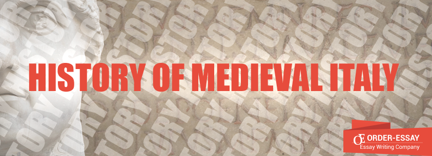 The history of medieval Italy