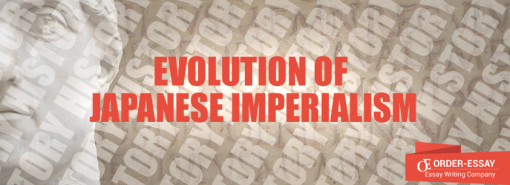 Evolution Of Japanese Imperialism