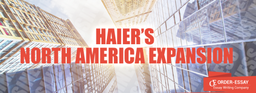 Haier's North America Expansion
