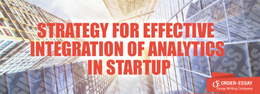 Strategy for Effective Integration of Analytics in Startup