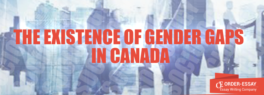 The Existence of Gender Gaps in Canada